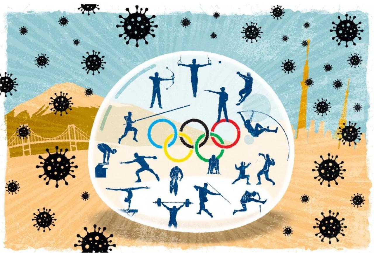 Olympische bubbel voor sporters in Tokyo