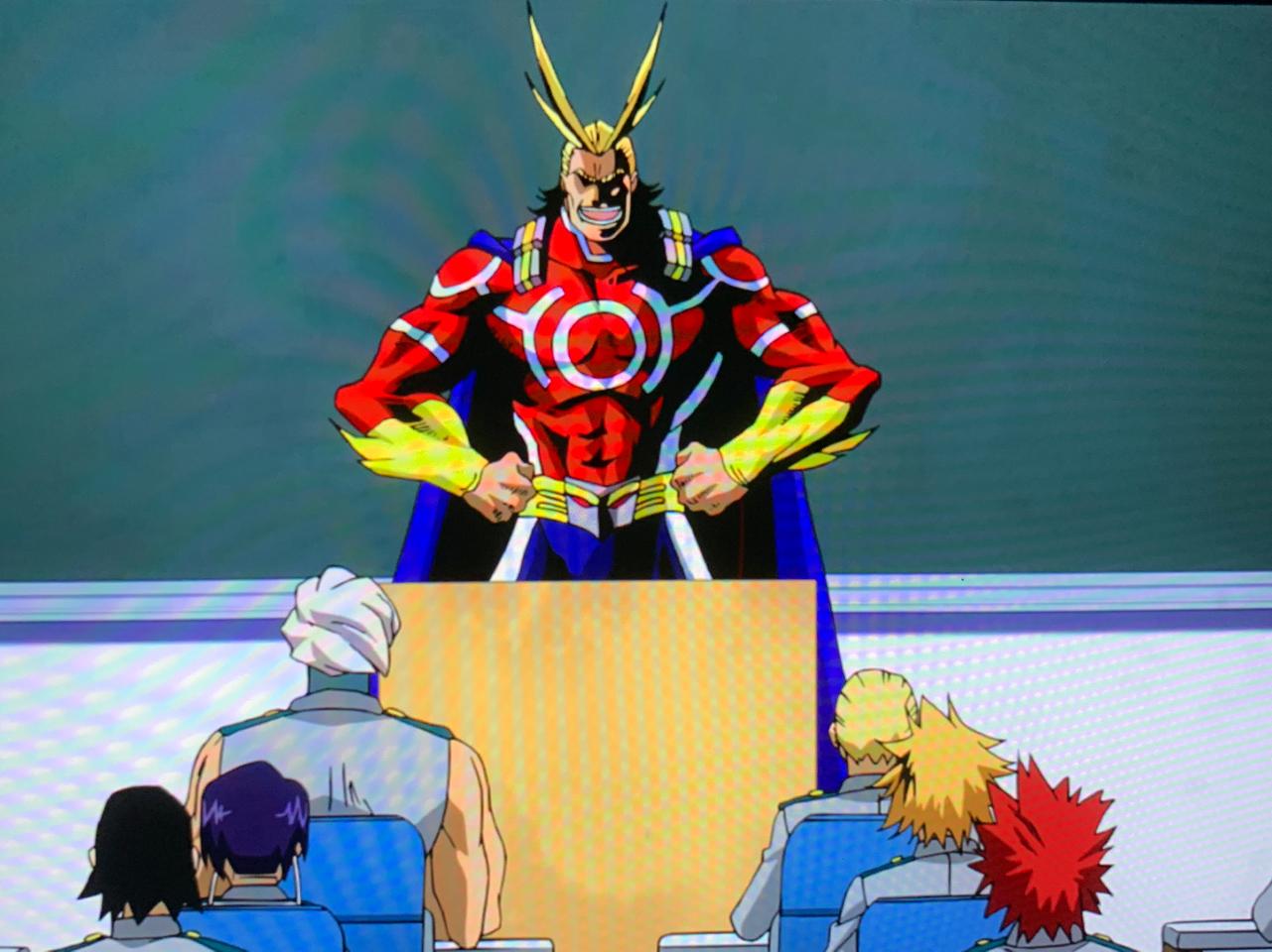 My Hero Academia klas