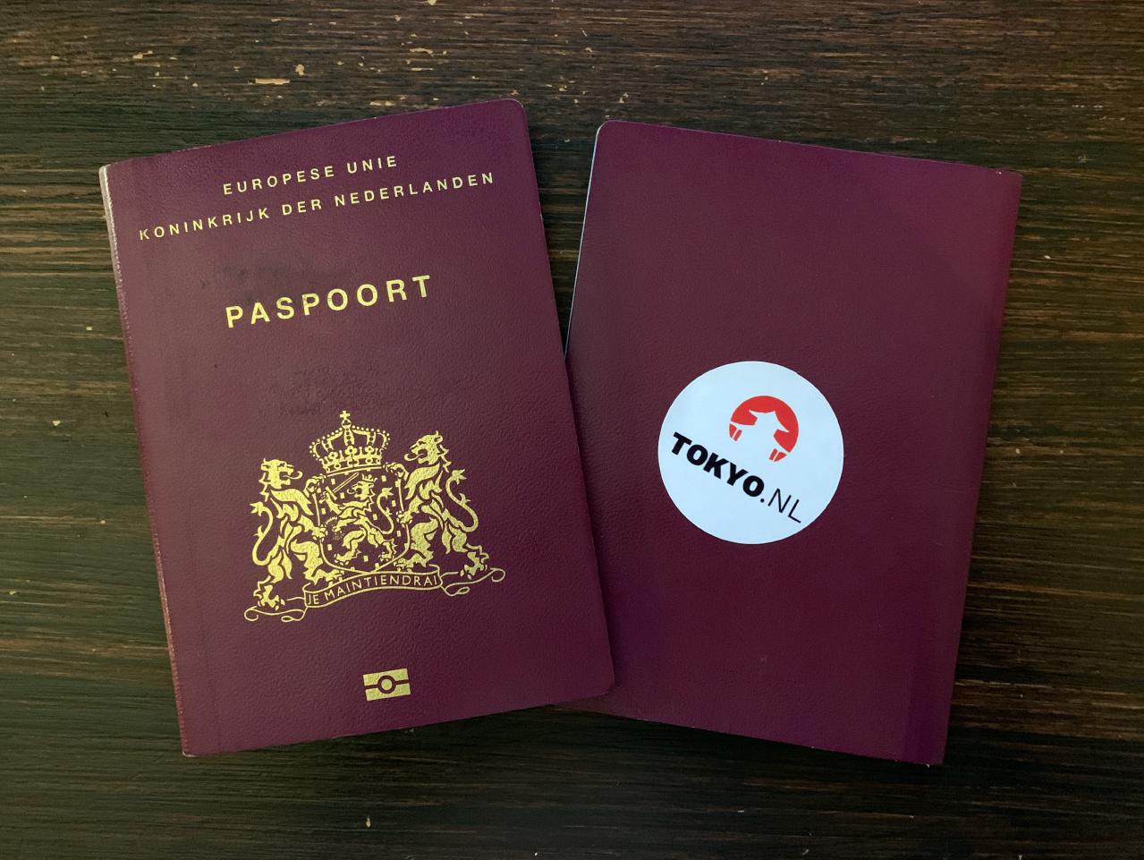 Visum Japan en Nederlands paspoort